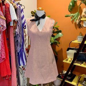 VTG 1960's Pale Pink Princess Mini Dress
